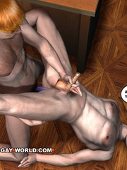Amazing threesome in this hot free cartoon sex. Tags: - Picture 4