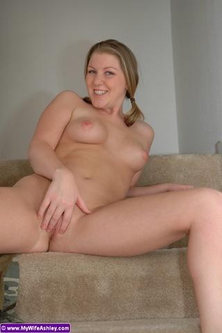 stunning blonde housewife black