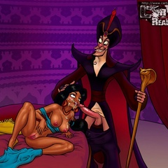 Toon Princess Jasmine is always ready for cock - Picture 2