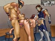 mutant girls are dripping