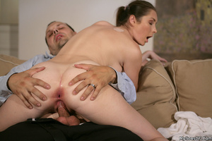 Shaved pussy girlfriend gets caught by her bf while fucking with his dad. Tags: Naked girl, pussy licking, pink pussy, old young. - XXXonXXX - Pic 8
