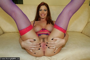 Busty Redhead Wife Gets Naughty - XXX Dessert - Picture 16