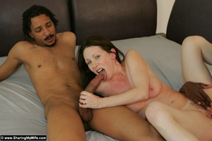 Beautiful Wife Takes Two Black Cocks - XXX Dessert - Picture 8