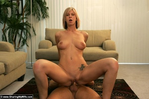 Blonde Slut Wife With Two Cocks - XXX Dessert - Picture 11