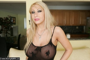 Wife Candy getting Naughty in Lingerie - XXX Dessert - Picture 1