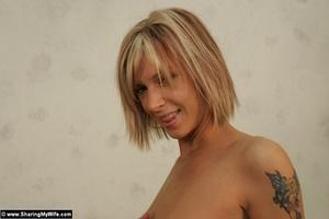 Hot Slut Wife Brooke Shows Off Sexy Body - XXX Dessert - Picture 10