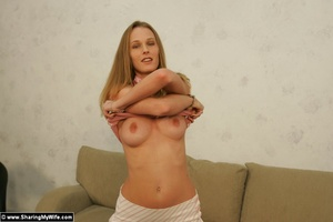 Lovely Wife Phoenix gets Naked For you - Picture 4