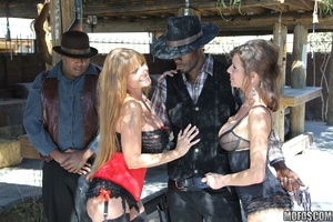 A Nameless Desperado is forced into a co - XXX Dessert - Picture 1