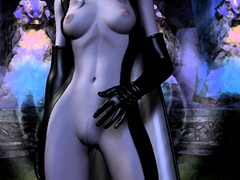 Adorable slutty 3d beauties in latex expsoing their - Picture 2