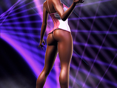 3d xxx pics of delicious babes in hot rubber outfits - Picture 3