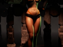 3d xxx pics of delicious babes in hot rubber outfits - Picture 4