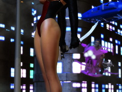 3d xxx pics of delicious babes in hot rubber outfits - Picture 6