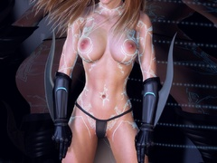 Big boobed 3d chicks expsoing their perfect bodies - Picture 5