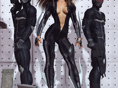 Have you ever seen such erotic hot girl in sexy latex - Picture 3