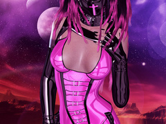 3d bimbos in latex body suits wanna you watch them - Picture 5