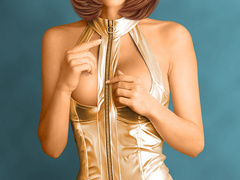 Smoking hot 3d babes in latex uniform willinly - Picture 1