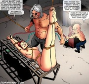 enslaved young girls are