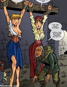 Two enslaved virgin hotties became fuck toys for horny vampires. Tags: