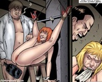 Nearly all shaved spanked princess comic Secretary Porn