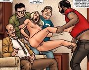 slim body blonde slave