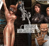 Two busty secret agents were captured by perverted doctor. Tags: Shaved
