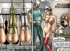Great xxx bdsm art pics of awesome chambermaids used as slave dolls. Tags: