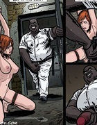 Enslaved in military prison redhead babe suffers hard punishment. Tags: