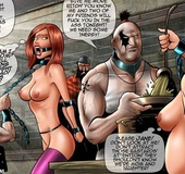 Captured in male world slave girls forced to satisfy their capturers.