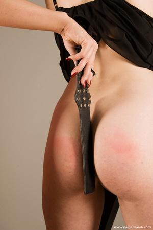 Brunette milf beauty in black stockings  - XXX Dessert - Picture 11