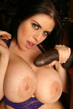 Milf brunette with epic tits and big dic - XXX Dessert - Picture 19