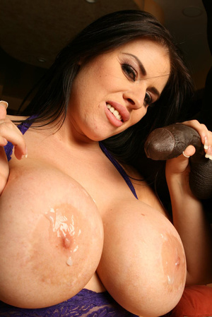 Milf brunette with epic tits and big dic - XXX Dessert - Picture 20