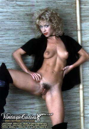 Slutty curly blonde in free vintage porn - XXX Dessert - Picture 10