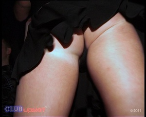 Real amateur upskirt pics of party chick - XXX Dessert - Picture 4