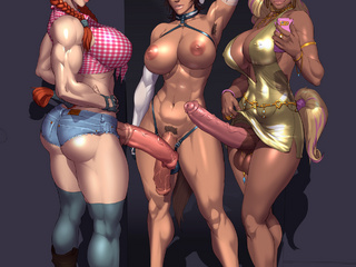 Amazing cartoon trannsexuals have the largest duck - Picture 4