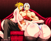 Shaved pussy anime babes dildoing their itching snatches and dreaming