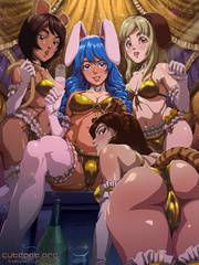 Sex starving anime stunners don't mind hard cocks in - Picture 3