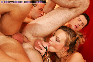 Hot mom gets involved into awesome three - XXX Dessert - Picture 10