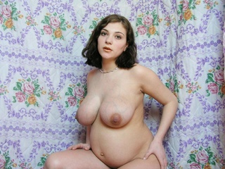 extremely beautiful luxurious pregnant