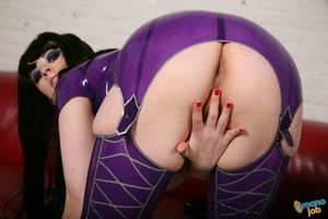 Latex, boobs and blue hair is not what y - XXX Dessert - Picture 3