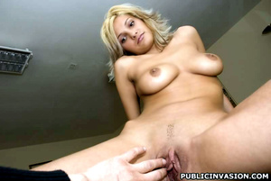 Super sexy blonde nymph gets mouth full  - XXX Dessert - Picture 5