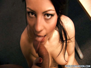 Cum loving sexy girl picked up on the st - XXX Dessert - Picture 6