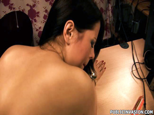 Cum loving sexy girl picked up on the st - XXX Dessert - Picture 14