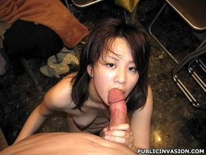 Petite asian chick flashing her pussy an - XXX Dessert - Picture 10