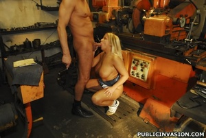 Picked up on the outdoors blonde babe do - XXX Dessert - Picture 7