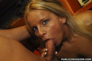 Picked up on the outdoors blonde babe do - XXX Dessert - Picture 10