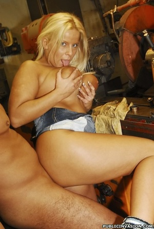 Picked up on the outdoors blonde babe do - XXX Dessert - Picture 13