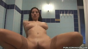 Lucky guy gets his cock pleased by slutt - XXX Dessert - Picture 9