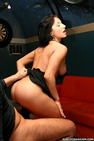 Picked up outdoors dark haired stunner s - XXX Dessert - Picture 17