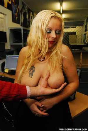 Super busty blonde slut gets fucked from - XXX Dessert - Picture 8