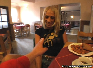 Lusty blonde in hard fucking action with - XXX Dessert - Picture 6